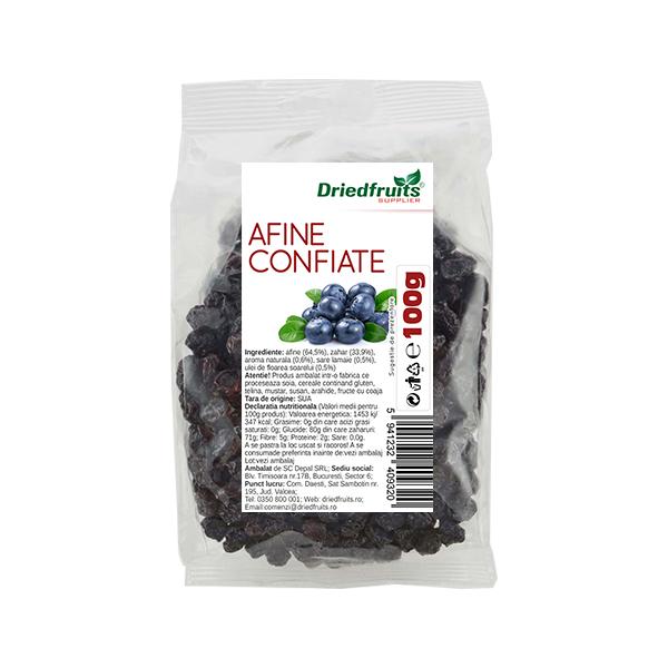Afine confiate Driedfruits - 100 g