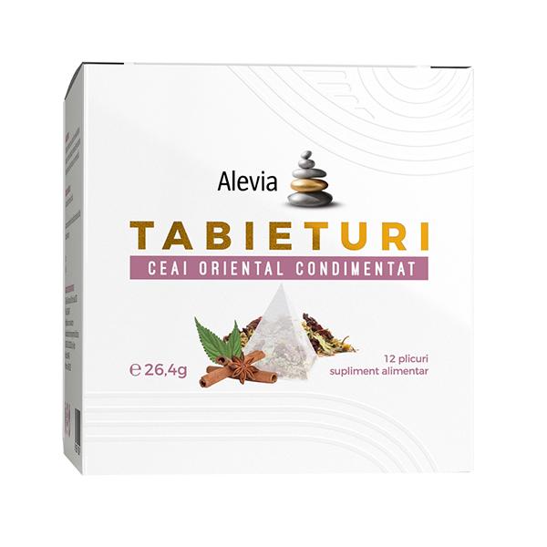Ceai oriental condimentat Tabieturi (12 plicuri piramida) Alevia - 26.4 g