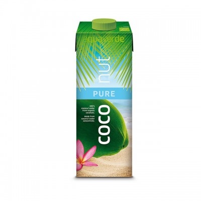 Apa de cocos Aqua Verde BIO - 1 litru