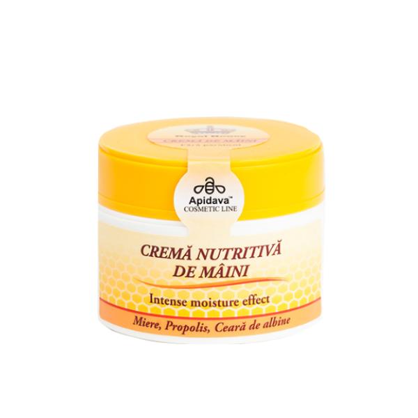 Crema de maini cu miere, propolis si ceara de albine Apidava - 50 ml