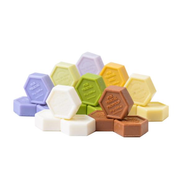 Set minisapunuri cu miere (4 bucati * 25 g) APIDAVA - 100 g