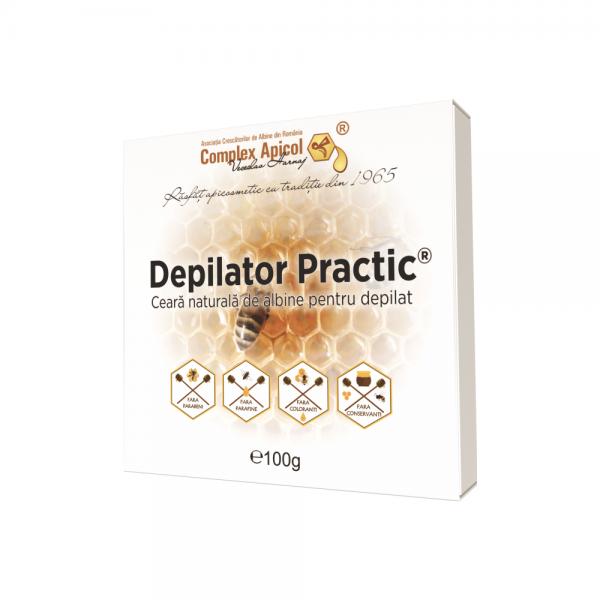 Ceara depilatoare cu propolis Apidermin - 100 g
