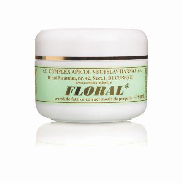 Crema de fata cu extract moale de propolis Floral - 50 ml