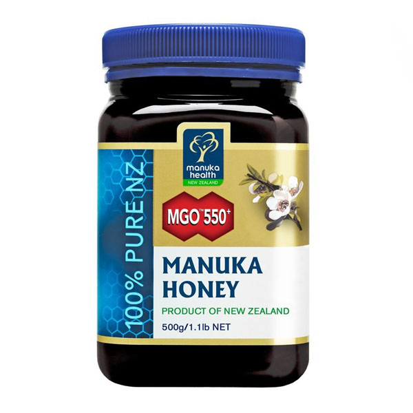 Miere Manuka MGO (550+) Manuka Health - 500 g