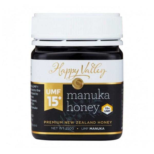 Miere Manuka Premium UMF  (+15) Happy Valley - 250 g