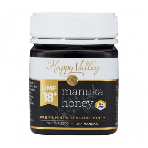 Miere Manuka Premium UMF (+18) Happy Valley - 250 g