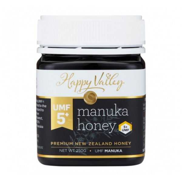 Miere Manuka Premium UMF (+5) Happy Valley - 250 g