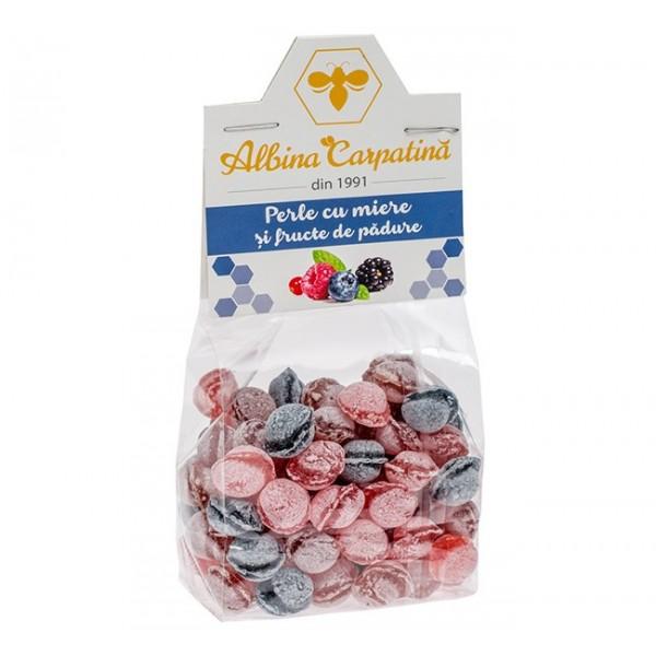 Perle cu miere si fructe de padure Albina Carpatina - 100 g