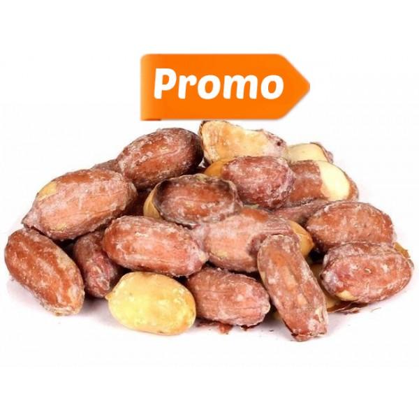 Arahide nedecojite coapte si sarate (rosii) Driedfruits - 1 kg + 500 g Gratis