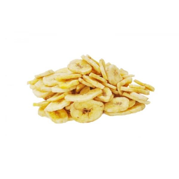 Banana chips confiata - 500 g