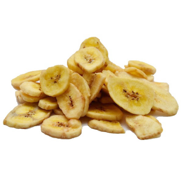 Banana chips confiata BIO - 500 g