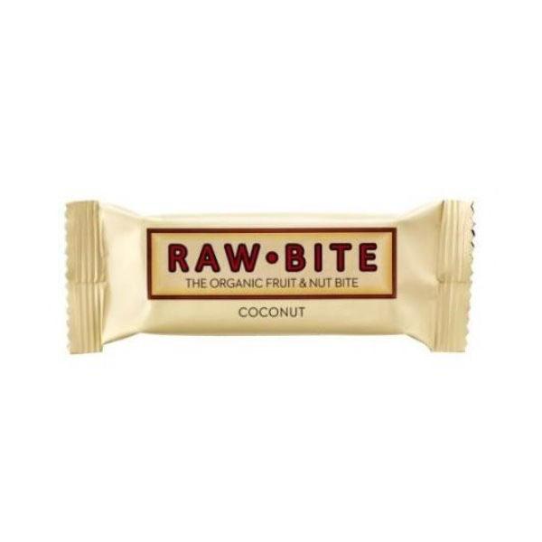 Baton nutritiv cu cocos (fara gluten si lactoza) BIO Raw Bite - 50 g