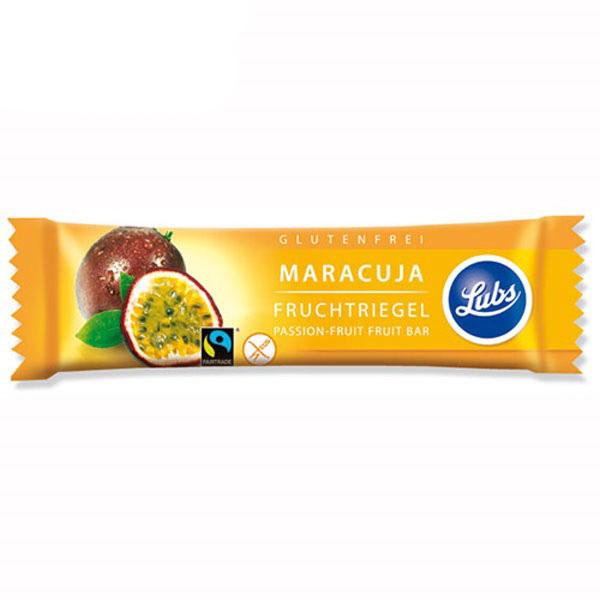 Baton fructe cu maracuja (fara gluten) BIO Lubs - 30 g