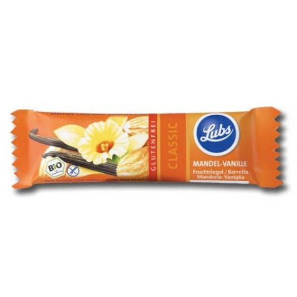 Baton fructe cu migdale si vanilie (fara gluten) BIO - 40 g