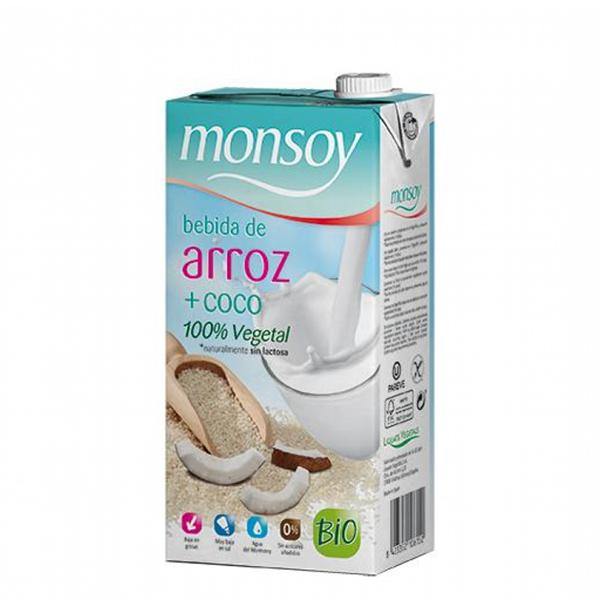 Bautura orez si cocos Monsoy BIO - 1 litru