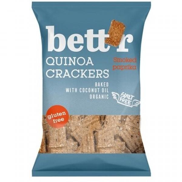 Crackers cu quinoa si boia (fara gluten) BIO Bettr - 100 g