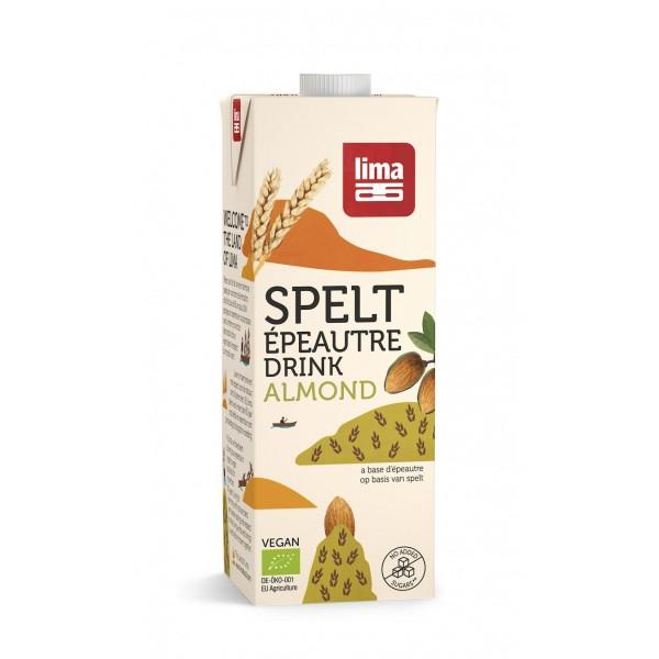 Bautura vegetala de grau spelta cu migdale BIO Lima - 1 litru