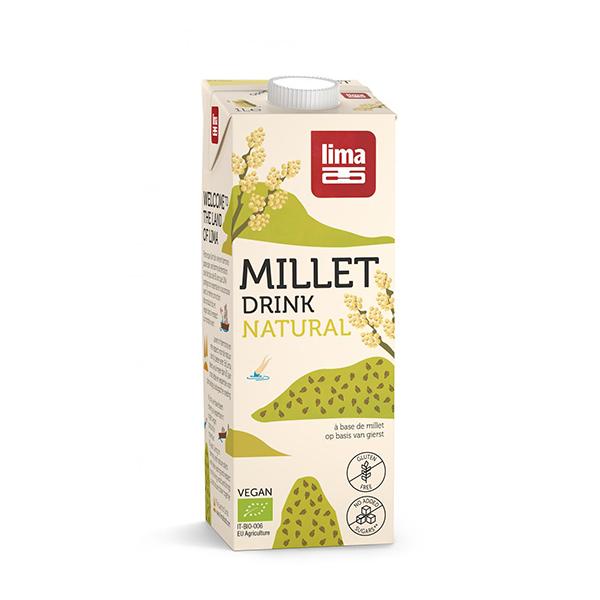 Bautura vegetala din mei (fara gluten) BIO Lima - 1 litru