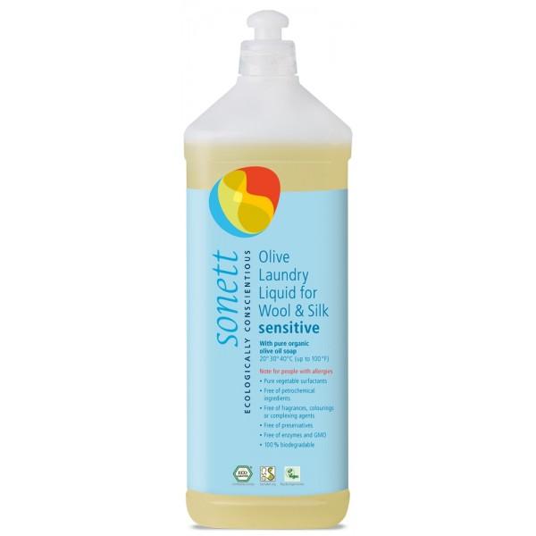 Detergent lichid pentru lana si matase neutru ECO Sonett - 1 litru