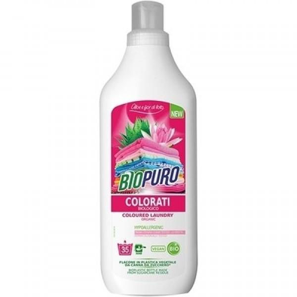 Detergent hipoalergen pentru rufe colorate ECO Biopuro - 1 litru