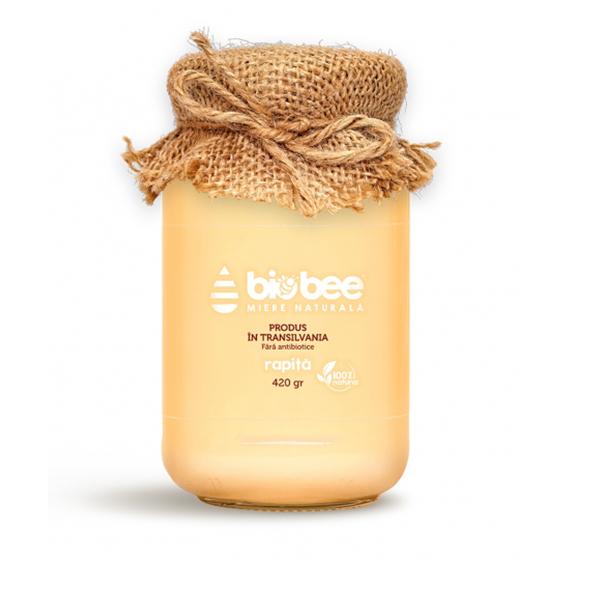 Miere de rapita BioBee - 420 g