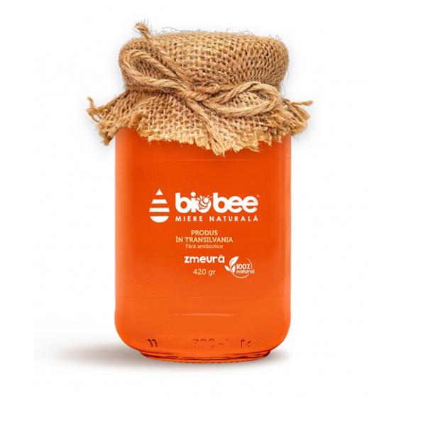 Miere de zmeura BioBee - 420 g