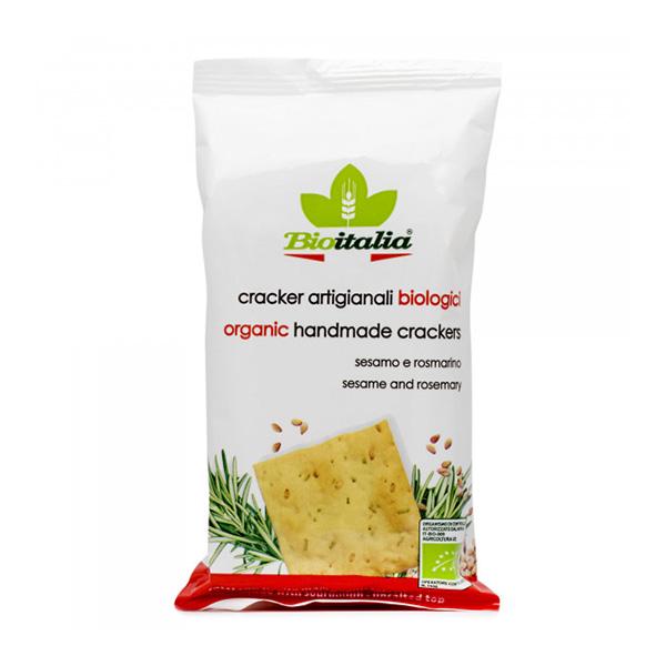 Crackers cu susan si rozmarin BioItalia BIO - 250 g