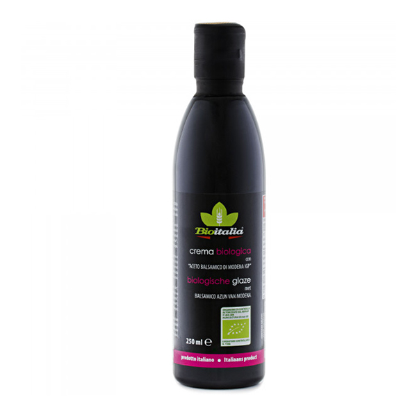 Crema de otet balsamic glaze BIO BioItalia - 250 g