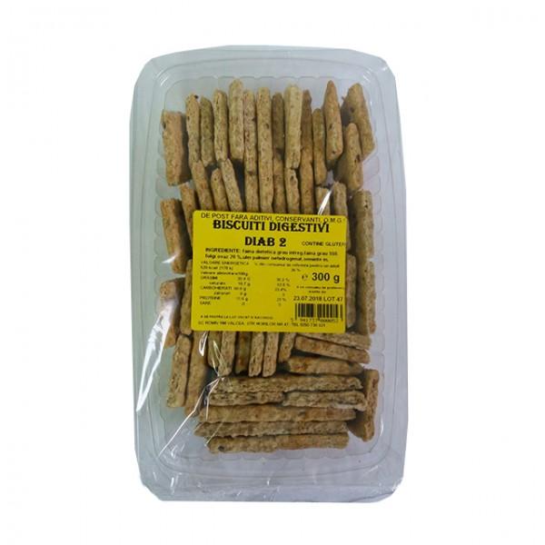 Biscuiti digestivi DIAB 2 Romiv - 300 g