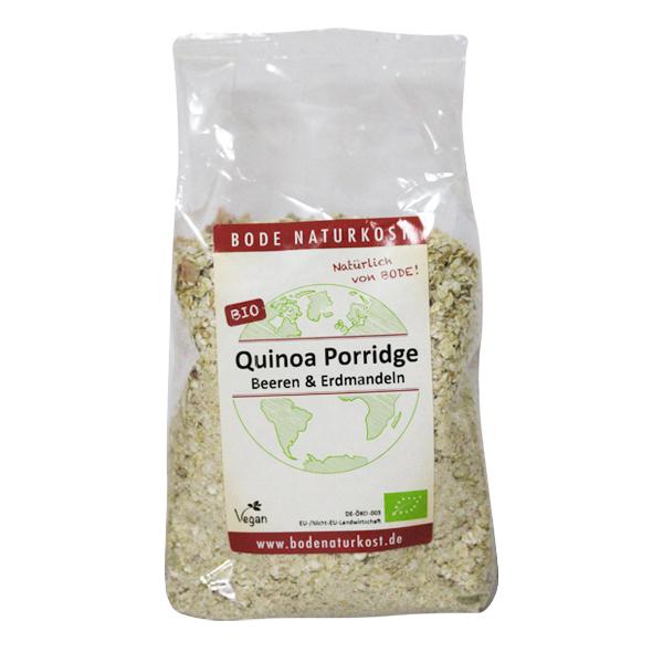 Budinca quinoa cu fructe si alune Tigernut BIO - 400 g