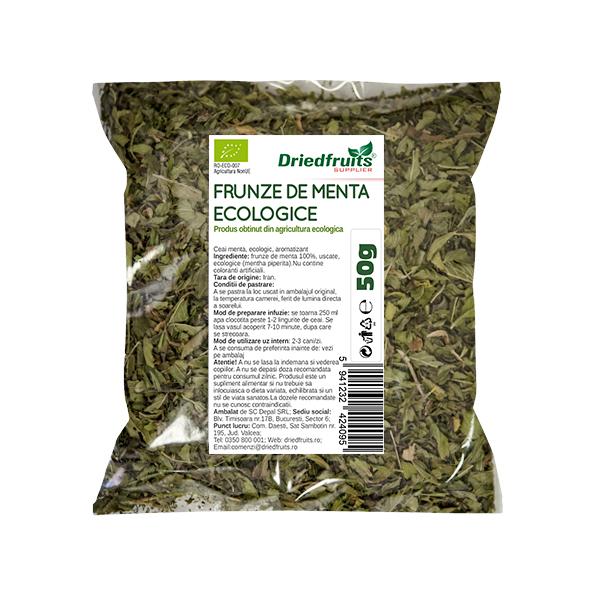 Ceai menta BIO Driedfruits - 50 g