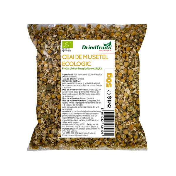 Ceai musetel BIO Driedfruits - 50 g
