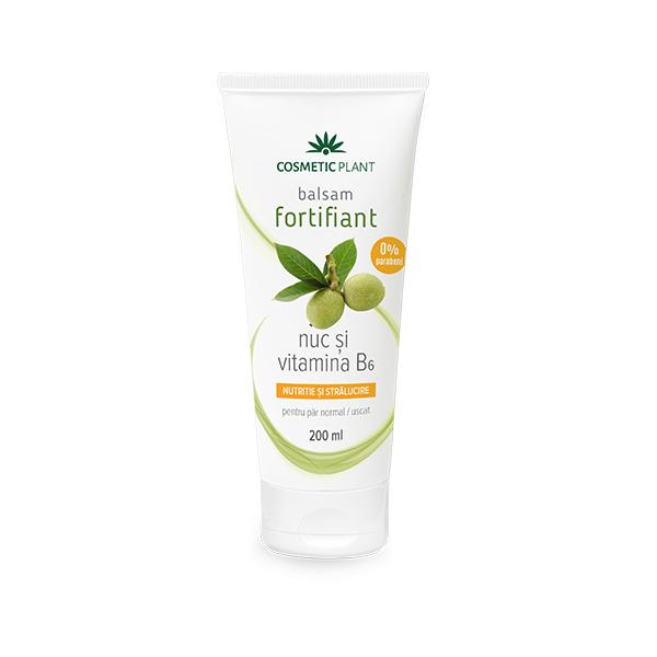 Balsam fortifiant cu nuc si vitamina B6 Cosmetic Plant - 200 ml