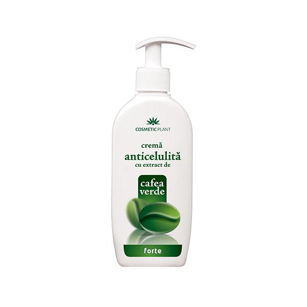 Crema anticelulita forte cu extract de cafea verde Cosmetic Plant - 250 ml