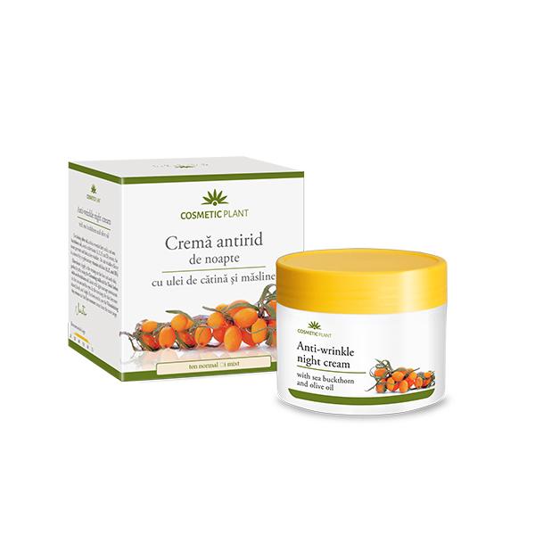 Crema antirid de noapte (cu ulei catina) Cosmetic Plant - 50 ml