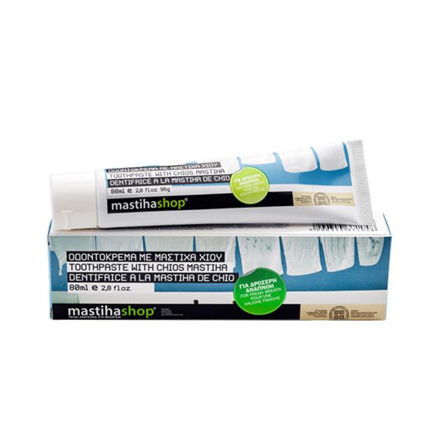 Pasta de dinti cu mastic Chios pentru respiratie proaspata Mediterra - 80 ml