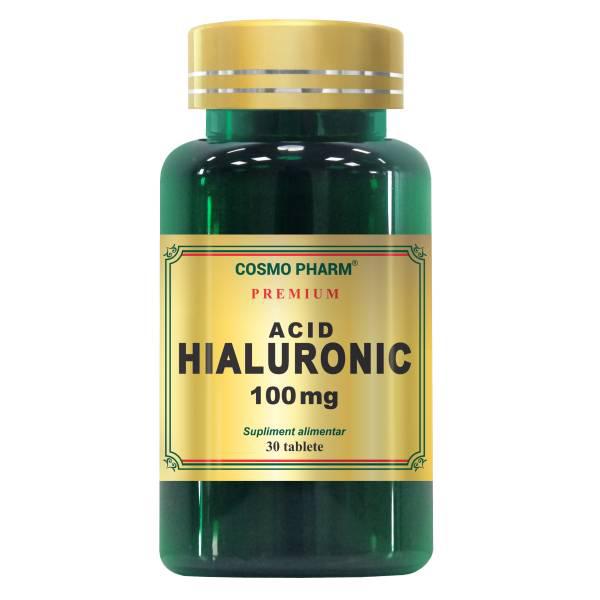 Acid hialuronic 100 mg Cosmo Pharm - 30 tablete