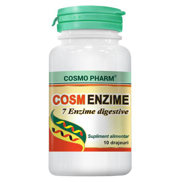 CosmEnzime Cosmo Pharm - 10 drajeuri
