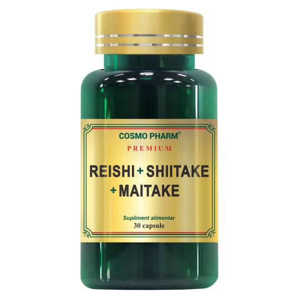 Reishi Shiitake Maitake Cosmo Pharm - 30 tablete