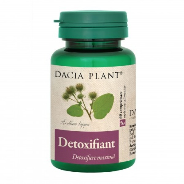Detoxifiant Dacia Plant - 60 comprimate