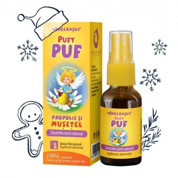 Pufy Puf Propolis si musetel - spray Ingerasul Dacia Plant- 20 ml