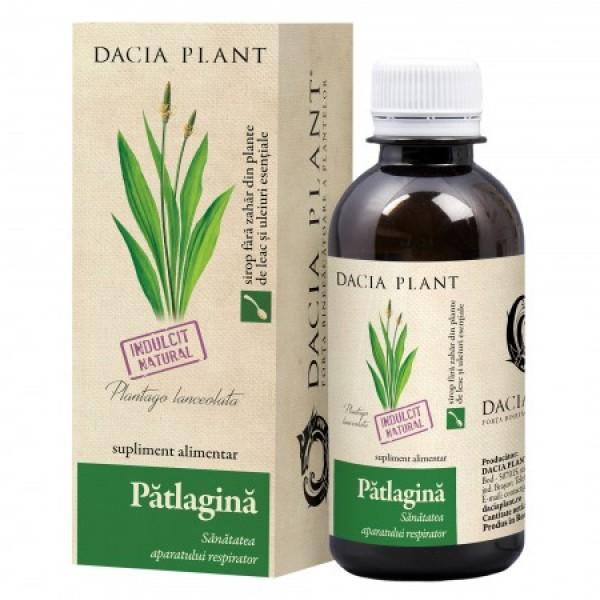 Sirop patlagina Dacia Plant - 200 ml