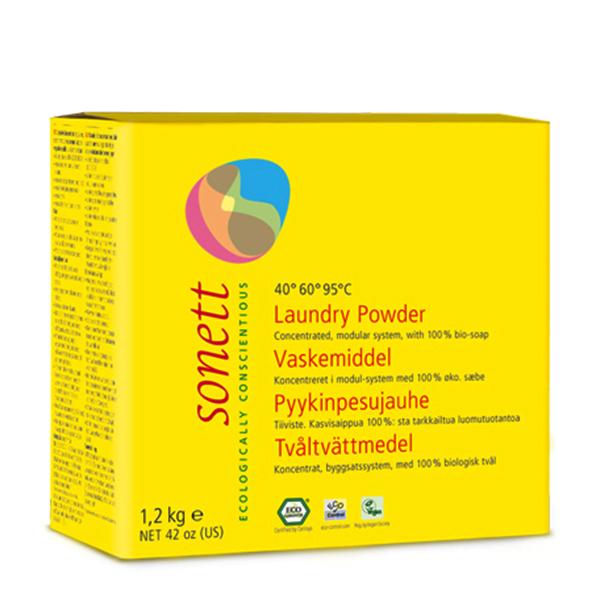Detergent praf pentru rufe ECO Sonett - 1.2 kg