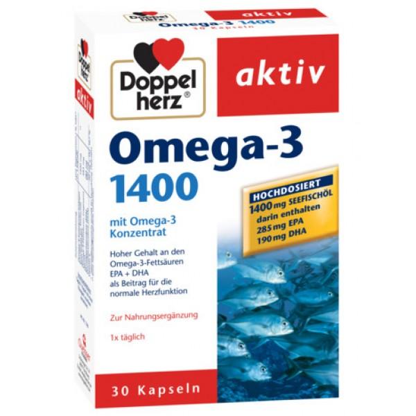 Aktiv Omega-3 1400 mg Doppelherz - 30 capsule