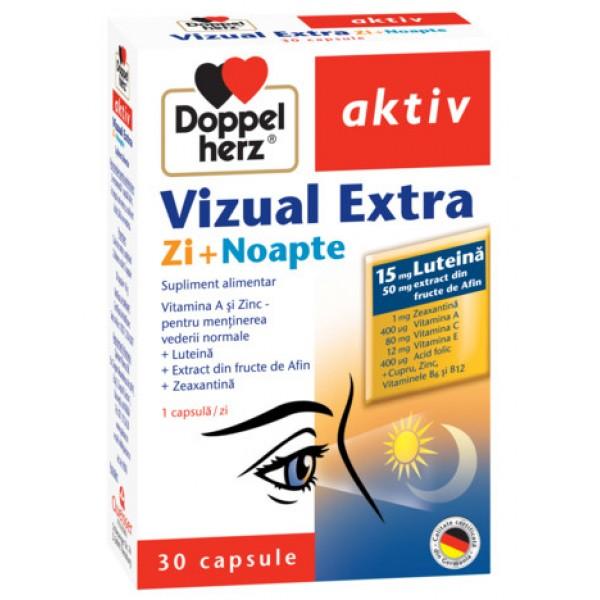 Aktiv Vizual Extra Zi + Noapte Doppelherz - 30 capsule