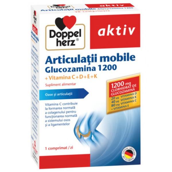 Aktiv Articulatii mobile Glucozamina 1200 Doppelherz - 30 capsule