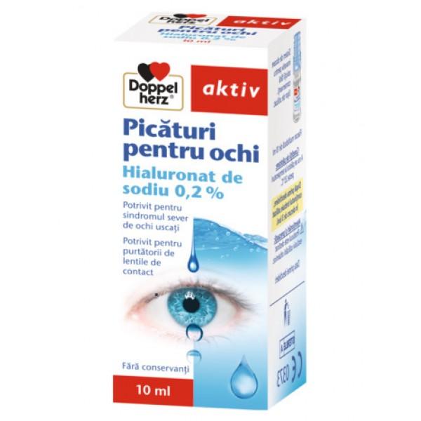 Aktiv Picaturi ochi Augen Tropfen 0.2% Doppelherz - 10 ml