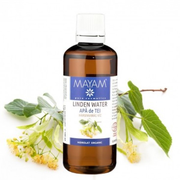 Apa de tei BIO Mayam - 100 ml