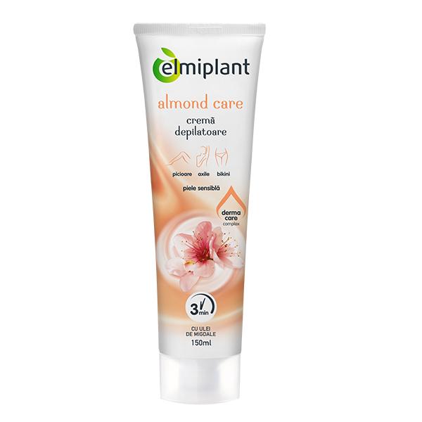 Crema depilatoare Almond Care (piele sensibila) Elmiplant - 150 ml