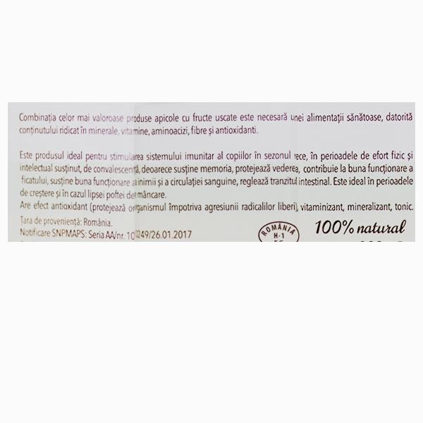Apijunior imunizant si vitaminizant pentru copii Albina Carpatina - 200 g